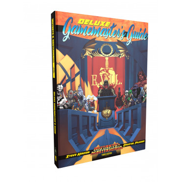 Mutants & Masterminds 3rd Edition: Deluxe Gamemaster's Guide