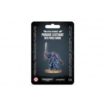 W40K : Adeptus Astartes - Primaris Lieutenant  (Power Sword)