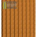 Plasticard - Thread Roof Tilesl Textured Sheet - A4 0