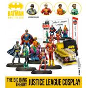 Batman Miniature Game: The Big Bang Theory Justice League Cosplay