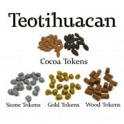 Set de Pions Ressources - Teotihuacan