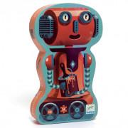 Puzzle Silhouette : Bob le Robot