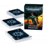 W40K : Cartes Techniques - Drukhari (9eme Edition)