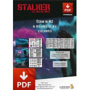 STALKER - Ecran du Meneur version PDF
