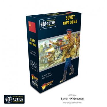 Bolt Action  - Soviet NKVD Squad