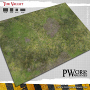 Tapid de jeu Roads of War 3' x 3'