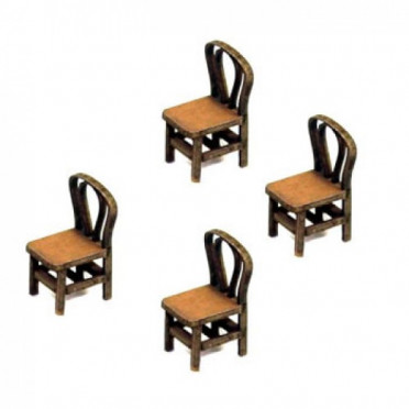 Bentwood Back Chair (x4)
