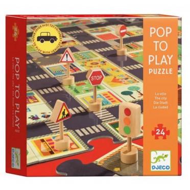 Puzzle Géant - La Ville