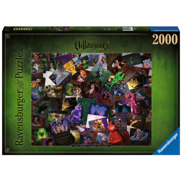 Puzzle Villainous - Méchants Disney