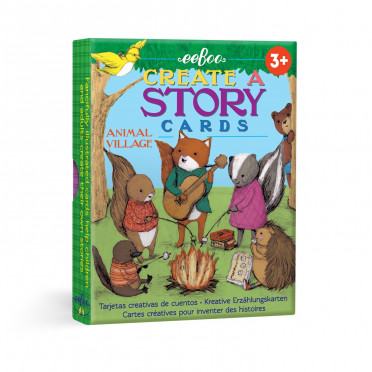Story Cards - Village Animaux