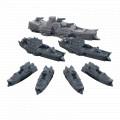 Dystopian Wars: Ning Jing Battlefleet Set 1
