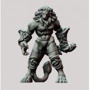 3D Printed Miniatures: Leonidal Agathion