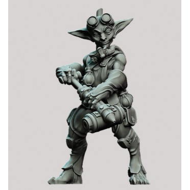 3D Printed Miniatures: Male Alchemist