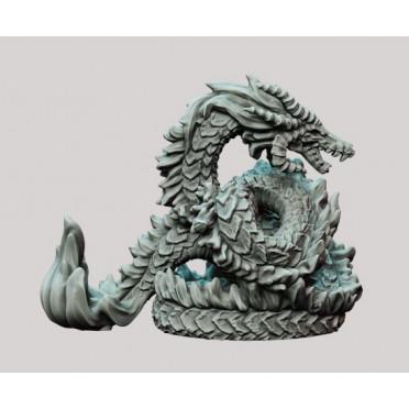 3D Printed Miniatures: Mortas Dragon