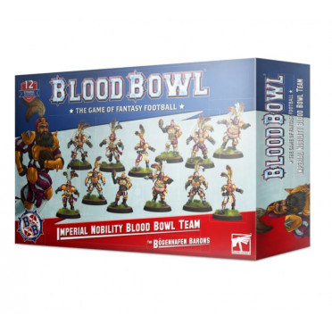 Blood Bowl : Imperial Nobility Team - The Bögenhafen Barons