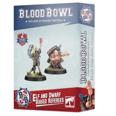 Blood Bowl : Arbitres Partiaux Elfe et Nain