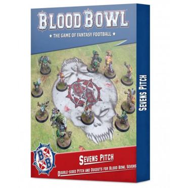 Blood Bowl : Terrain et fosses double face pour Blood Bowl à Sept