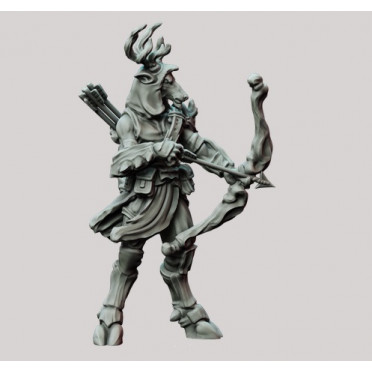 3D Printed Miniatures: Stag Archon