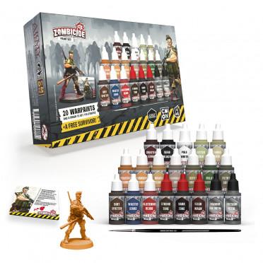 Zombicide 2nd Edition Paint Set