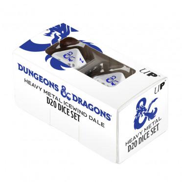D&D - Icewind Dale : Heavy Metal Icewind Dale D20 Dice Set