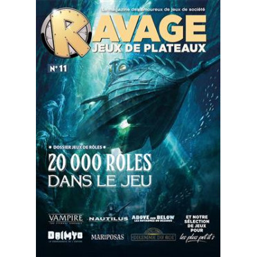 Ravage Hors Série N°11 - Jeux de Plateaux