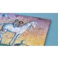 Puzzle - Pocket My Unicorn - 100 Pièces 1