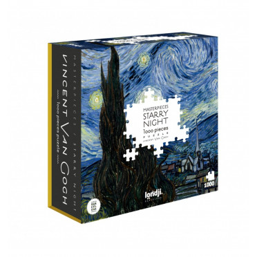 Puzzle - Vincent Van Gogh - Nuit Etoilée - 1000 Pièces