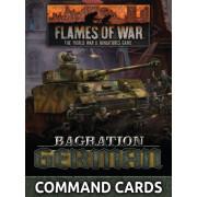 Flames of War - Bagration: German Command Cards
