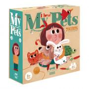 Puzzle - I Love My Pets - 21 pièces