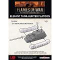 Flames of War - Elefant Tank-Hunter Platoon 1