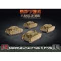 Flames of War - Brummbär Assault Tank Platoon 0