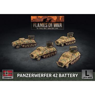 Flames of War - Panzerwerfer 42 Battery