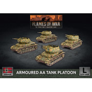 Flames of War - Armoured AA Tank Platoon