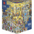 Puzzle - Hotel Life de Christoph Schöne – 1000 Pièces 0
