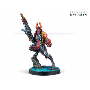 Infinity - Combined Army - Agent Dukash (MULTI Rifle)