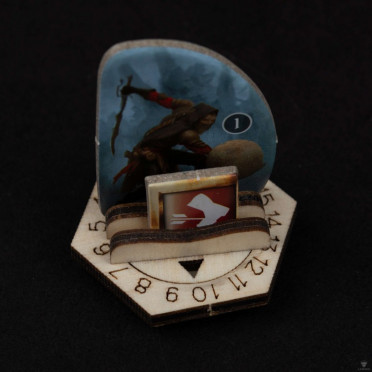 Socles pour Monstres LaserOx - Gloomhaven