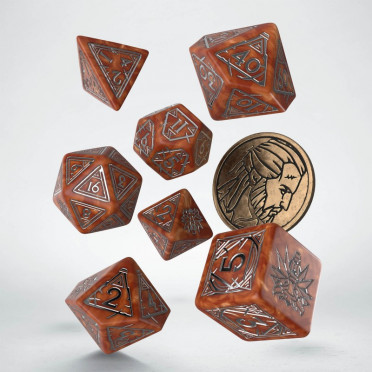 The Witcher Dice Set - Geralt - The Monster Slayer