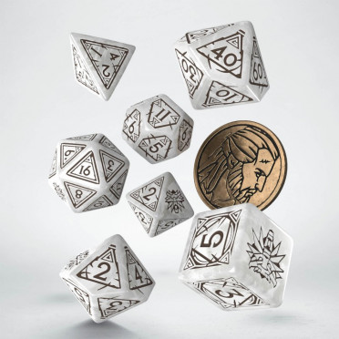 The Witcher Dice Set - Geralt - The White Wolf