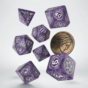 The Witcher Dice Set - Yennefer - Lilac and Gooseberries