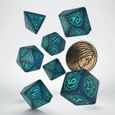 The Witcher Dice Set - Yennefer - Sorceress Supreme