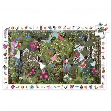 Puzzle Observation - Jeux au Jardin - 100 Pièces