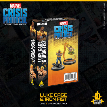 Marvel Crisis Protocol - Luke Cage & Iron Fist