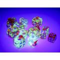 Set de 7 Dés JDR Chessex : Nebula 10