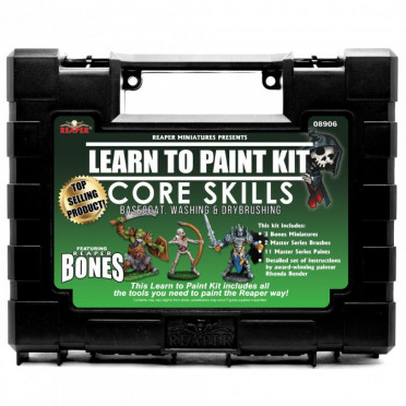 Reaper Master Series Paints: Lear to Paint Kit - Core Skills