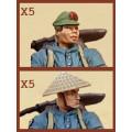 Dust - PLA Light Infantry Multi-Option Box 6