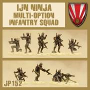 Dust - IJN Ninja Infantry Squad Multi-Option Box