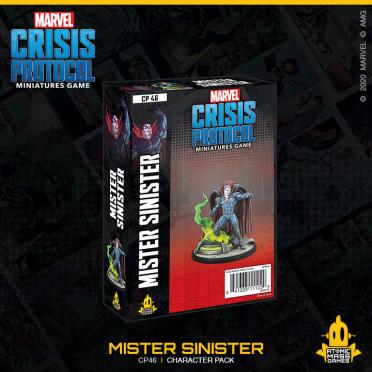 Marvel Crisis Protocol - Mr. Sinister