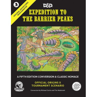 Original Adventures Reincarnated - #3 Expedition to the Barrier Peaks