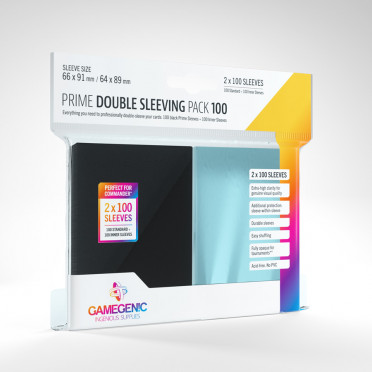 Prime Double Sleeving Pack 100