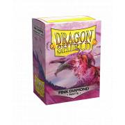 100 Dragon Shield Matte Pink Diamond